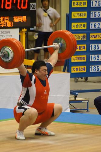 全日本選手権での太田和臣選手の試技