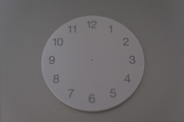 時計付箋紙