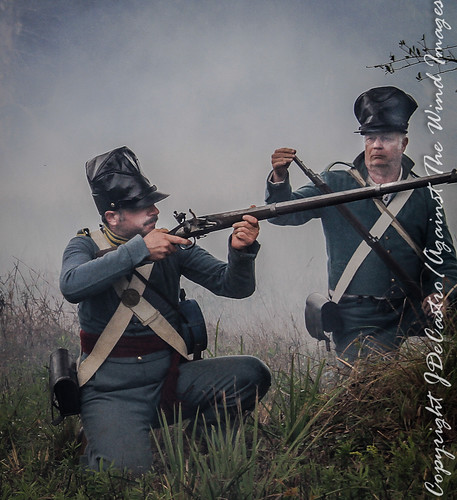 laying down fire-5620 by Against The Wind Images