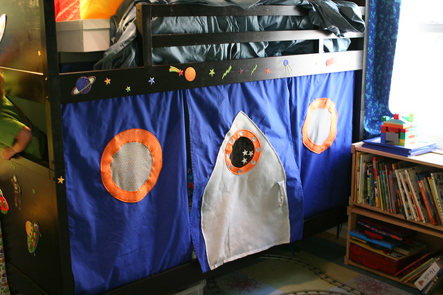 Rocket Ship Bed Tent
