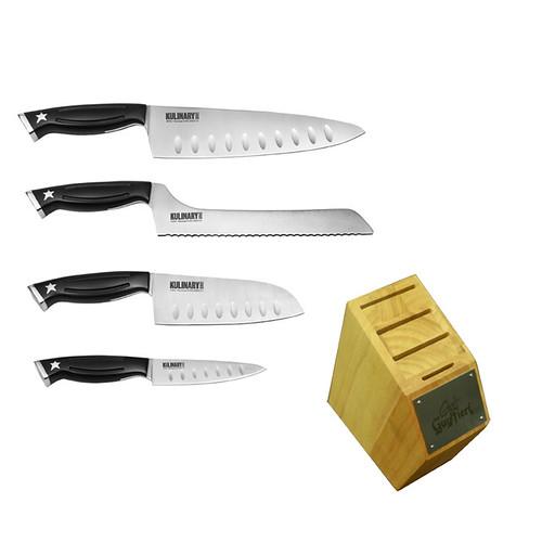Kulinary 5pc block set give away