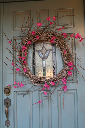 Spring Wreath Finished