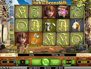 Jack and the Beanstalk slot game online review