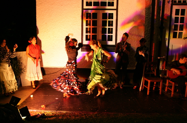 Flamenco dancers at the Spanish Ambassador's Residence