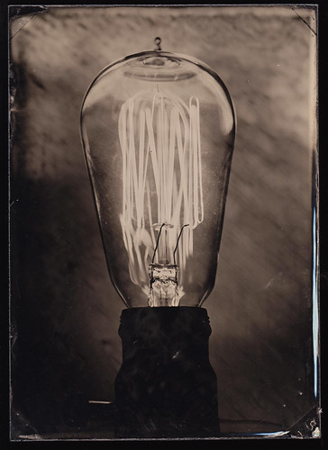 Nashville tintype photography portrait edison lightbulb