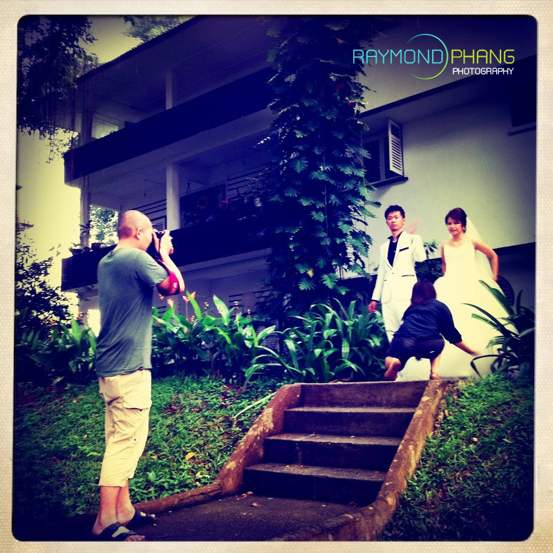 Pre-Wedding behind the scene - 1a