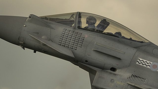 Typhoon RAF Coningsby HDR