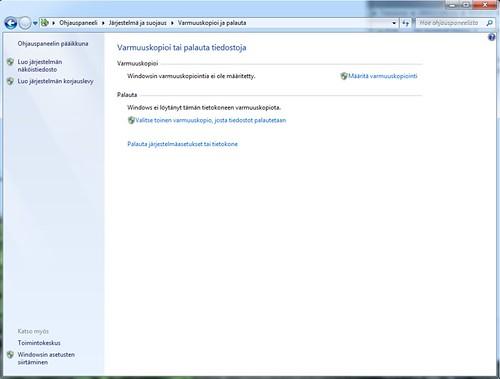 Windows 7 - korjauslevy