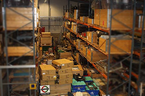 storage at the london transport museum depot by jemimahknight