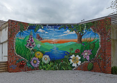 Mural at Bradford College by Tim Green aka atoach