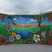 Small photo of Mural at Bradford College
