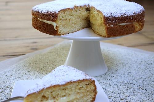 Butter Cake con crema pasticcera #2