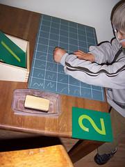 Montessori Writing Activity (Photo by Lisa Nolan from Montessori on a Budget)