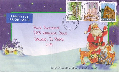 Santa Claus Envelope-Poland