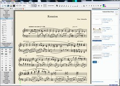 MuseScore 1.2 screenshot