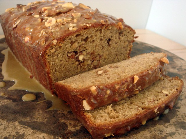 Peanut Butter Banana Loaf with Doug's Nuts