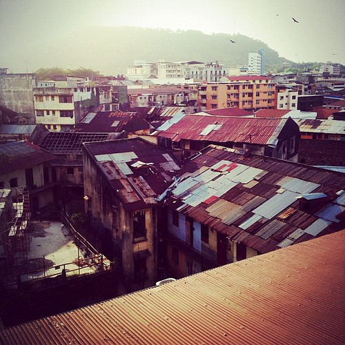 #rooftops #cityscape #city #ciudaddepanama #panama #centralamerica #birds #igerspanama