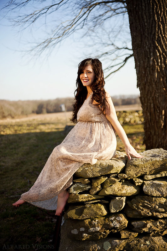 Katya Maternity Session - Tiverton, RI