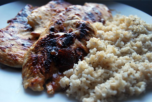 Peachy Keen Grilled Chicken