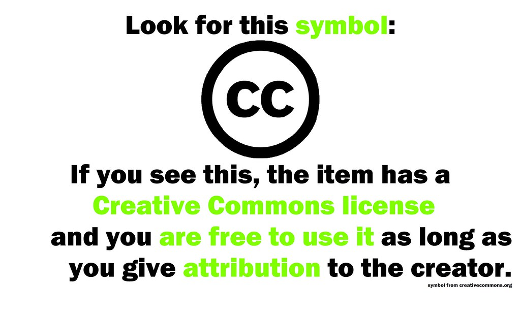 Why Use Creative Commons Items?