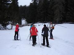 Schneeschuhwandern mit Hans