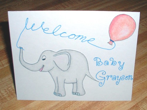 welcome baby elephant