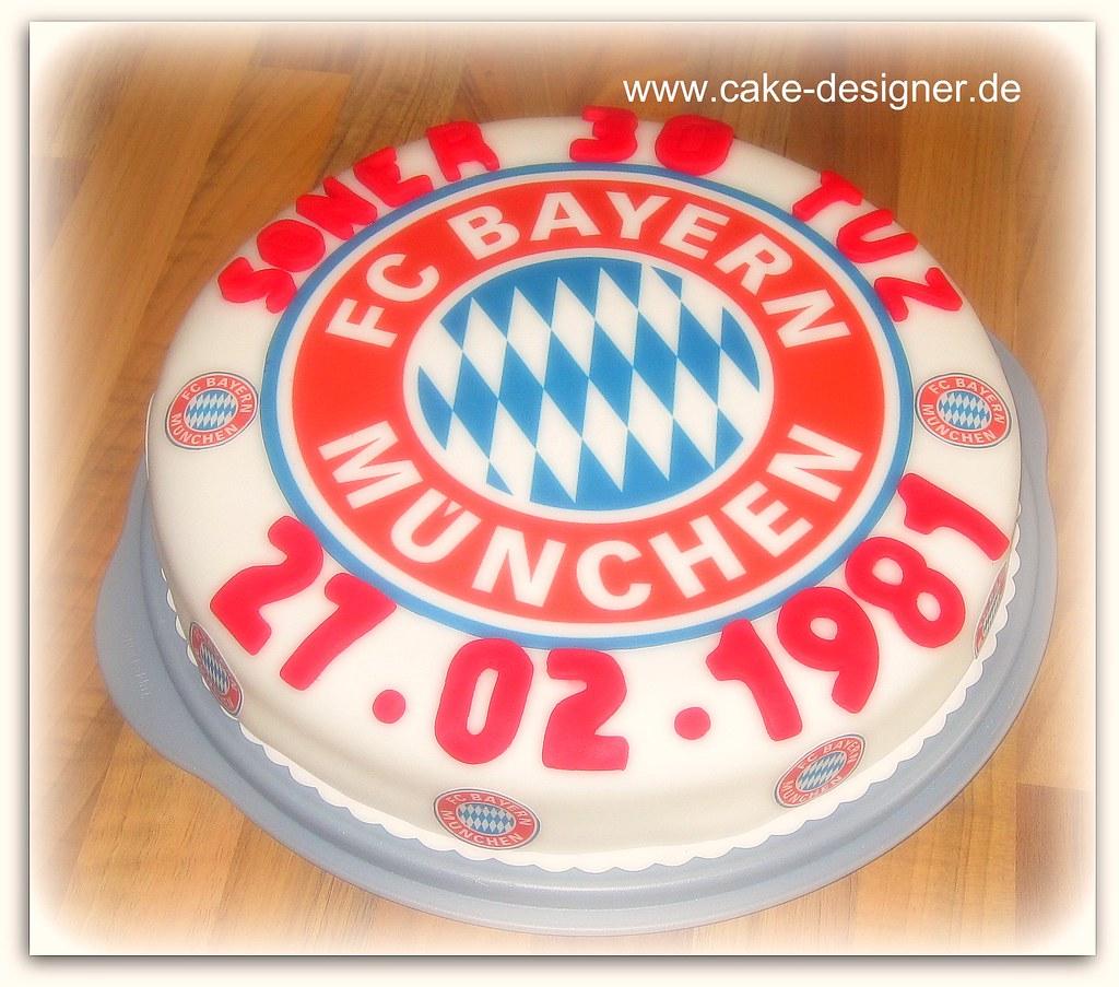 39 Fondant Torte Fc Bayern Munchen Sengul Akbas Flickr