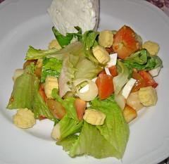 salad, vegetable, vegetarian food, food, dish, cuisine, caesar salad,