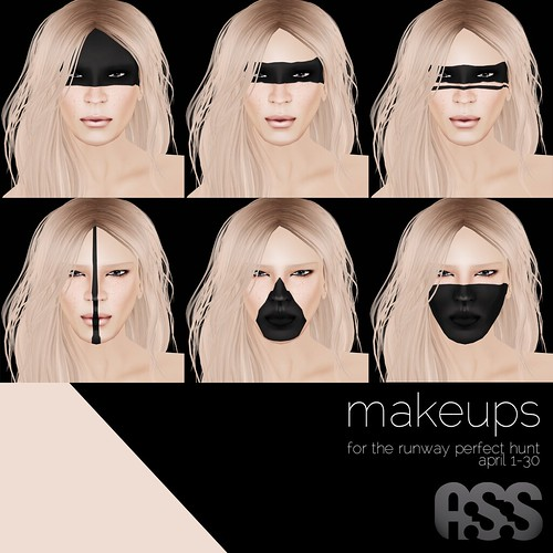 A:S:S - Makeups for the runway perfect hunt, april 1-30 by Photos Nikolaidis