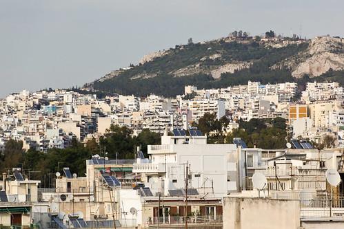 Across Athens
