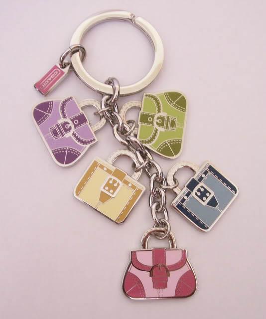 coach key fob handbag charms flickr photo