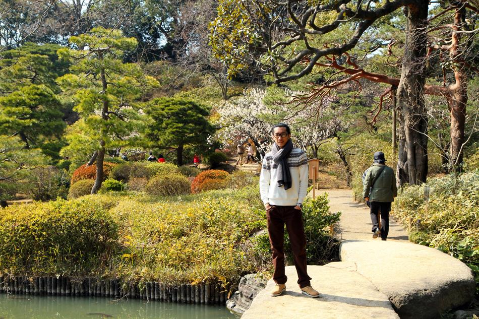 Rikugien garden ameyoko superwhite for 7194 garden pond