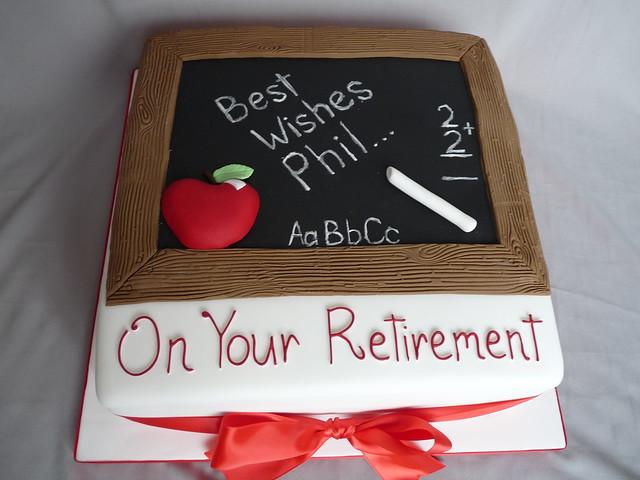 Teacher Retirement Cake Images : 7054271301_9a63746304_z.jpg