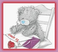 osos te amo carta
