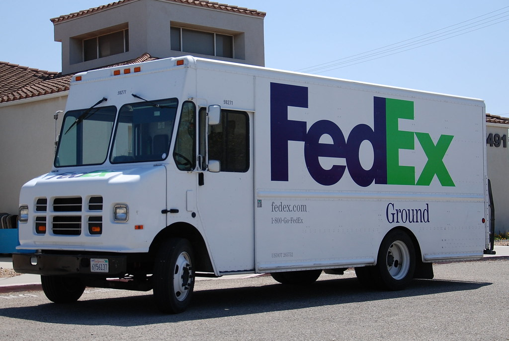 Fedex Ground Delivery Truck Navymailman Flickr
