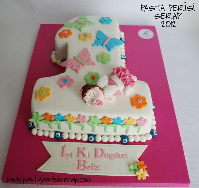 1 yaş pastası- beliz