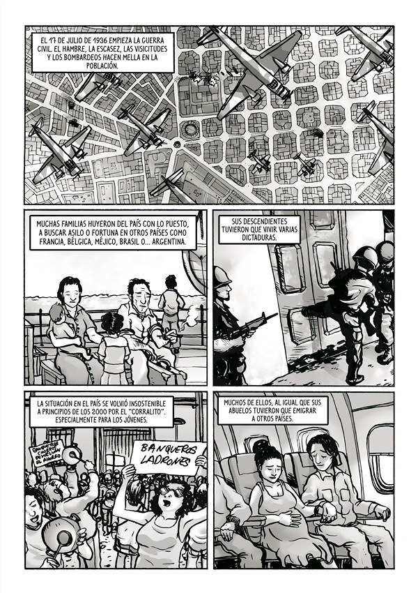 Sincronias – Novela Gráfica