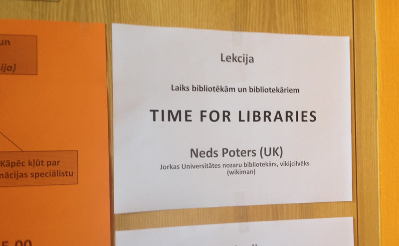 Latvian for Ned Potter is apparently 'Neds Potera'