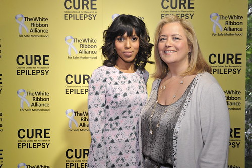 Kerry Washington and Hilary Rosen