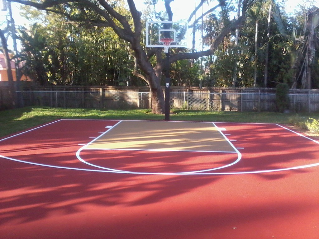 Basketball multipurpose agile courtsagile courts for Personal basketball court