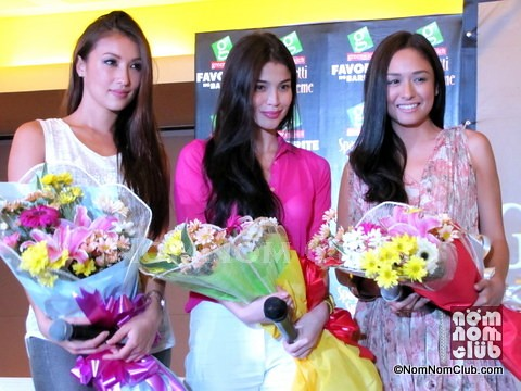 Greenwich Pasta Girls: Solenn Heuseff, Anne Curtis, and Kelly Misa