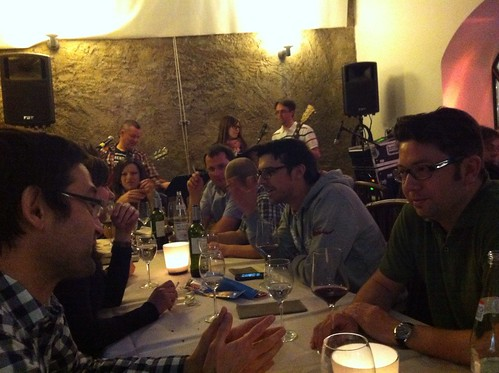 Restaurant Hellwegers Partyband Barcamp Südtirol #bcs12