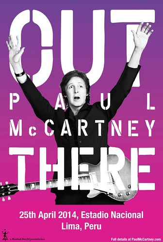 Paul McCartney en Lima - Estadio Nacional