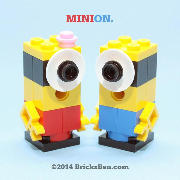 BricksBen - LEGO Mini Despicable Me Minion