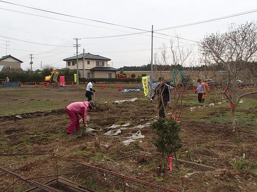 南相馬・小高でボランティア(援人 2014年 0328便)