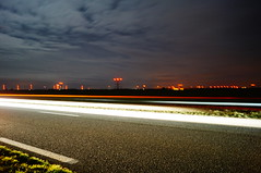 Drive by night - Photo of Neuvy-Pailloux