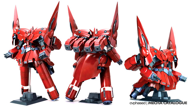 HGUC Neo Zeong - Colored Prototype Shots