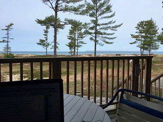 Work station in Glen Arbor