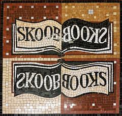 Skoob Books floor mosaic