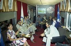 Voyage à Kingston : Site pour le yachting lors des Jeux olympiques \'76. - 9 août 1972. Photo par Robert Vandensteene. Archives de la Ville de Montréal. VM94-O01c-001